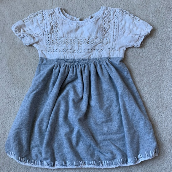 Peek Embroidered Dress Girl Size 4/5 Small